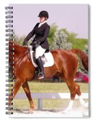 Dressage Test Spiral Notebook
