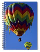 Driffting On The Wind Spiral Notebook