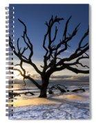 Driftwood Beach At Dawn Spiral Notebook