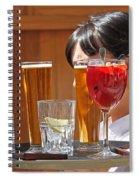 Drinks Sir Spiral Notebook