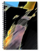 Drive By Abstract Spiral Notebook