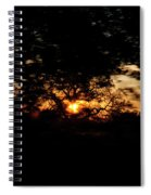 Drive By Sunset Spiral Notebook
