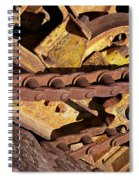 Drive Chain Spiral Notebook