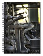 Drive The Train Spiral Notebook