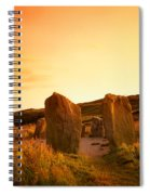 Drombeg Stone Circle, Near Glandore, Co Spiral Notebook