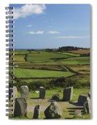 Drombeg Stone Circle Near Glandore In Spiral Notebook