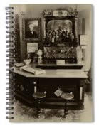 Drugstore Soda Fountain - New Orleans Spiral Notebook
