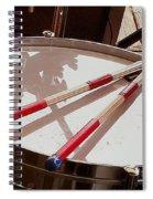 Drum At Rest Spiral Notebook