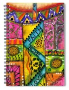Drum Land Spiral Notebook