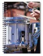Drummer Boy Spiral Notebook