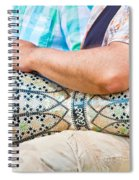 Drummer Spiral Notebook