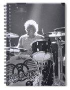 Drumming Spiral Notebook