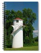 Dry Land Lighthouse 1 Spiral Notebook