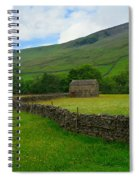 Dry Stone Walls And Stone Barn Spiral Notebook