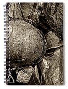 Drying Onions Spiral Notebook