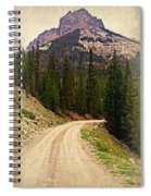 Dubois Mountain Road Spiral Notebook