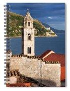 Dubrovnik Architecture Spiral Notebook