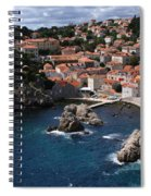 Dubrovnik By The Sea Spiral Notebook