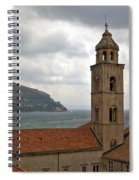Dubrovnik View 3 Spiral Notebook