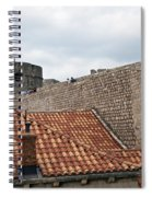 Dubrovnik View 4 Spiral Notebook