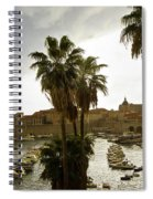 Dubrovnik View 6 Spiral Notebook