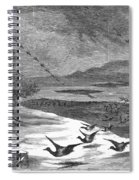 Duck Hunting, 1871 Spiral Notebook