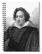 Dudley North (1602-1677) Spiral Notebook