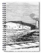 Dugout Home, 1871 Spiral Notebook