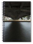 Duluth Lift Bridge Under 2 Spiral Notebook