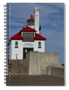Duluth S Pierhead 23 Spiral Notebook