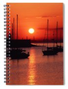 Dun Laoghaire Harbour, Co Dublin Spiral Notebook