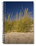 Dune And Beach Grass On Lake Michigan No.969 Spiral Notebook