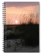 Dune Sunset Spiral Notebook