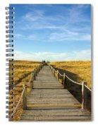 Dune Walkway Spiral Notebook