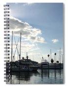 Dunedin Marina  Spiral Notebook