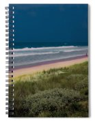 Dunes And Ocean Divided Spiral Notebook