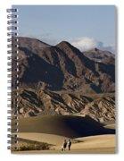 Dunes Of Death Valley Spiral Notebook