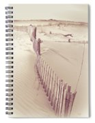 Dunes On The Cape Spiral Notebook
