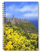 Dunluce Castle, Co. Antrim, Ireland Spiral Notebook