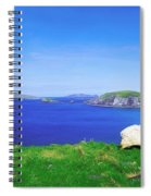 Dunmore Head, Blasket Islands, Dingle Spiral Notebook