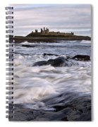 Dunstanburgh Castle Iv Spiral Notebook