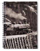 Durango And Silverton Steam Train Spiral Notebook