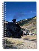 Durango And Silverton Train Spiral Notebook