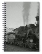 Durango Silverton Bw Painterly 2 Spiral Notebook