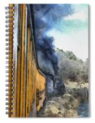 Durango Silverton Painterly 3 Spiral Notebook