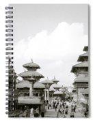 Durbar Square Patan Spiral Notebook
