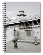 Durbar Square Spiral Notebook