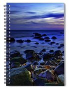 Dusk At Montauk Point Spiral Notebook