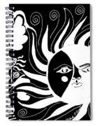 Dusk Dancer - Inverted Spiral Notebook