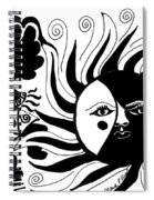 Dusk Dancer Spiral Notebook